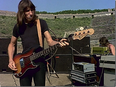 Roger Waters | Fender Precision bass sunburst