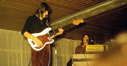 Roger Waters | Fender Precision bass Olympic white