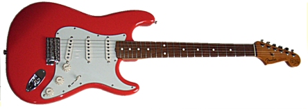 CHris Rea Signature Strat