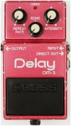 Boss DM-3 analogue delay