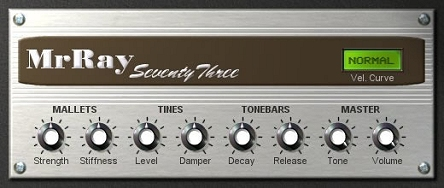 MrRay 73 Fender Rhodes VST plugin