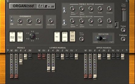 Organized trio - VST plug-in - Hammond organ