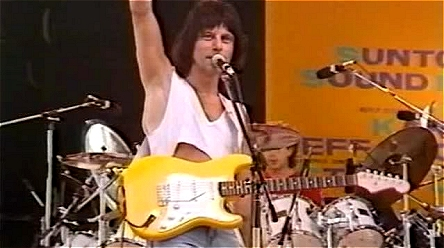 Jeff Beck's Graffiti Yellow Strat